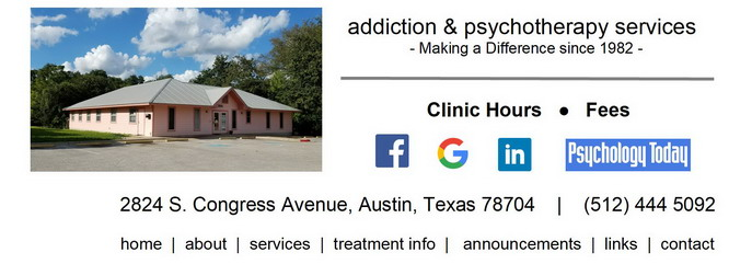 Methadone and Buprenorphine (Suboxone) clinic in Austin, Texas